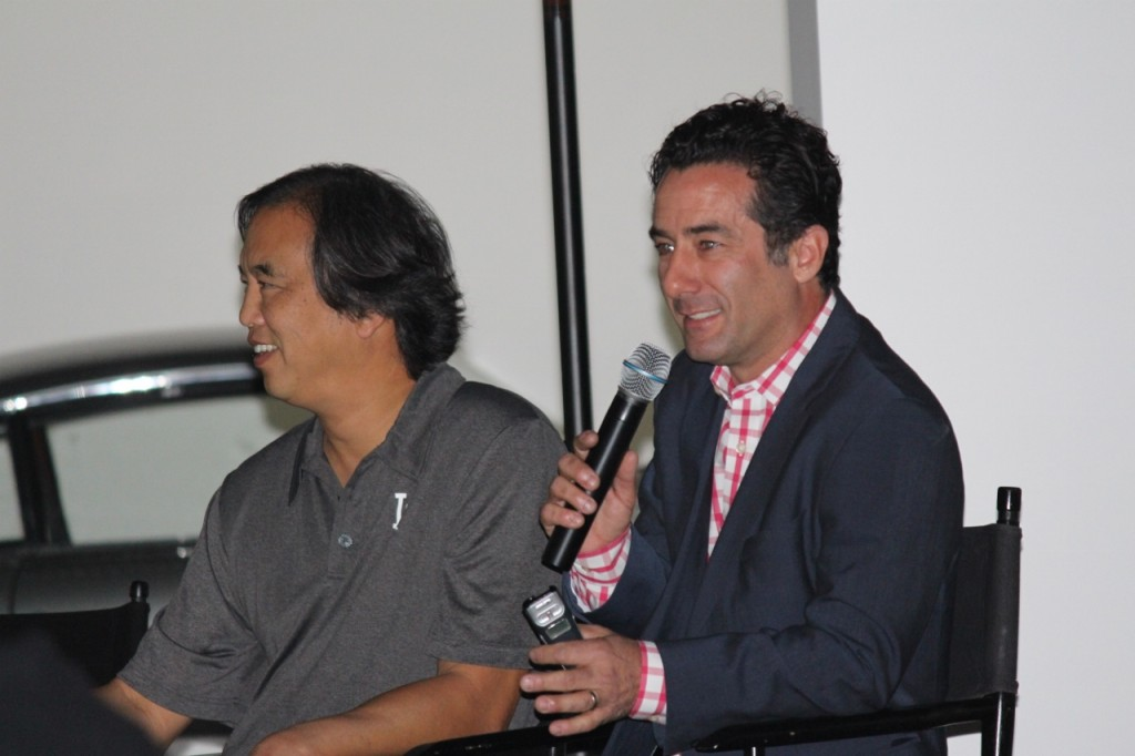 February 13,2016-Photographers Jon SooHoo and Matt Brown discuss Southern California baseball photography at the Peterson Automotive Museum in Los Angeles, CA. Photo by: Stacie Wheeler