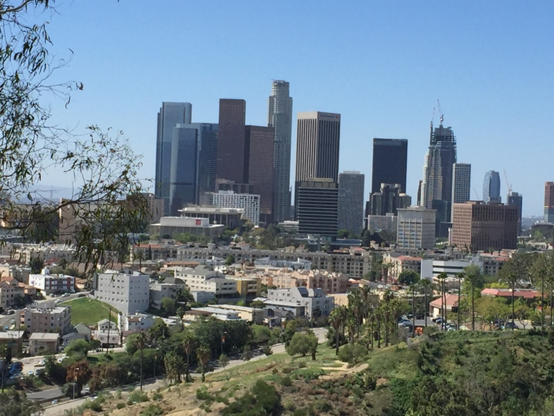 It was a clear day in Los Angeles, March 22, 2016. Photo: Stacie Wheeler