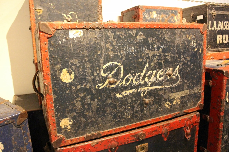 Vintage Dodger luggage. Photo: Stacie Wheeler