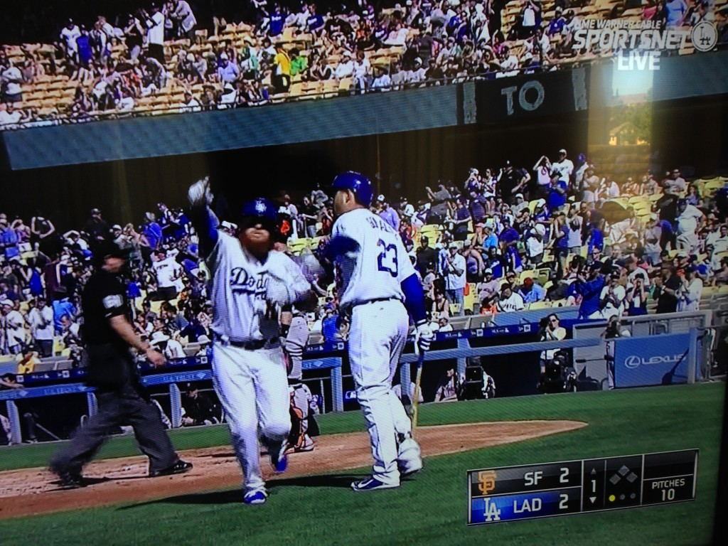 Justin Turner homerun, June 20, 2015